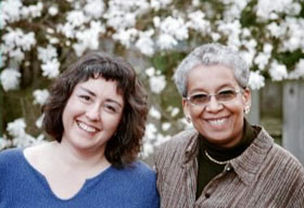 Sandra Orock Hall and Barbara Nevergold